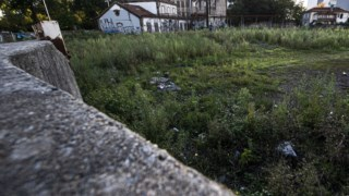 Terreno da antiga estação na Boavista, Porto.
