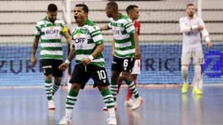 O Sporting derrotou o Benfica nos quartos-de-final da Taça de Portugal