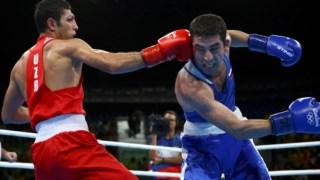Imagem do torneio olímpico de boxe nos Jogos do Rio de Janeiro em 2016