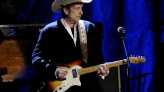 Bob Dylan, numa actuação em L.A., em 2014