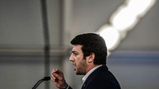 O líder do CDS, Francisco Rodrigues dos Santos, apresentou, este sábado, quinze medidas para a economia