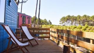 Ohai Nazaré Resort ao ar livre