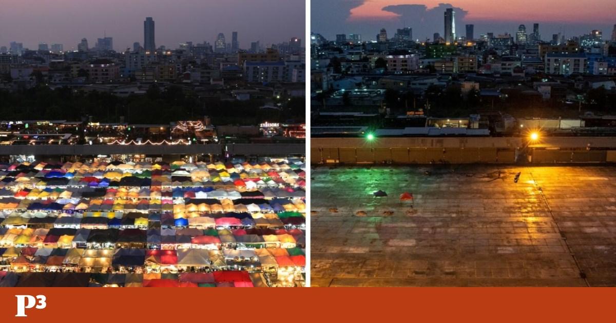 O antes e o depois de um mundo que vive em casa por culpa da covid-19