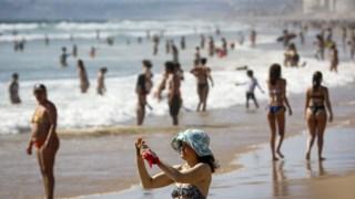 este fim-de-semana é o primeiro de ida à praia com regras covif-19