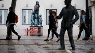 Estátua de Padre António Vieira em Lisboa foi vandalizada na quinta-feira