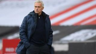 Mourinho com poucas razões para estar feliz com o Tottenham