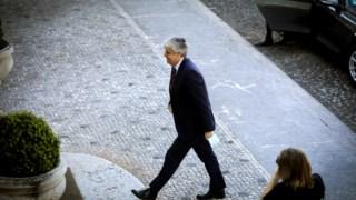 Mário Centeno, ex-ministro e futuro governador do Banco de Portugal, ouvido pelos deputados