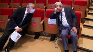 Marcelo e Costa: só os dois é que sabiam do fim das reuniões do Infarmed