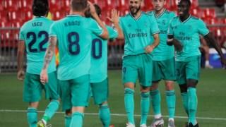 Benzema celebra em Granada