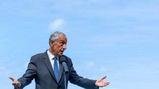 O Presidente da República homenageou Aristides de Sousa Mendes
