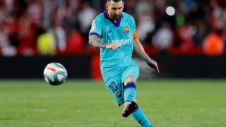 Messi totaliza 444 golos em 485 partidas