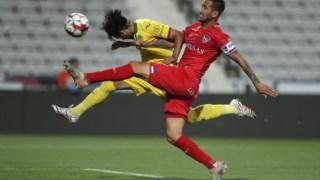 O duelo entre o Gil Vicente e o Paços de Ferreira teve seis golos