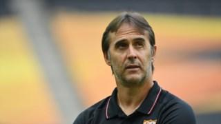 Julen Lopetegui não quer perder a oportunidade de voltar a colocar o Sevilha na final da Liga Europa