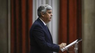 Ex-ministro das Finanças Mário Centeno, agora governador do Banco de Portugal