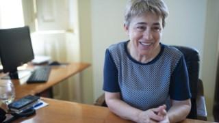 A secretária de Estado das Comunidades Portuguesas, Berta Nunes