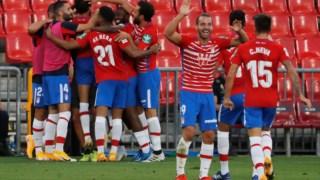 O Granada entrou a ganhar na liga espanhola