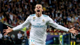 Gareth Bale ainda com a camisola do Real Madrid