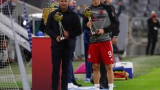 Lewandowski, do Bayern, destacou-se como melhor goleador