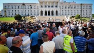 Há dois anos, os protestos dos taxistas contra a Uber chegaram a bloquear Lisboa