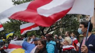 Pelo menos 53 manifestantes foram detidos este domingo
