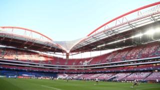 O Estádio da Luz é o recinto português com maior lotação