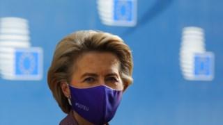 Ursula von der Leyen recebeu António Costa no seu gabinete esta manhã