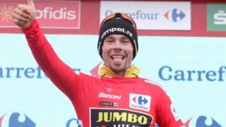 Roglic de vermelho na Vuelta 2019