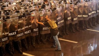 protesto,questoes-sociais,manifestacao,fotografia,mundo,tailandia,