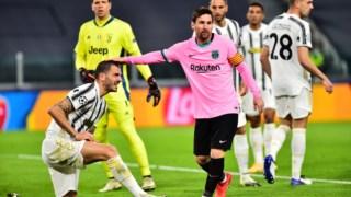 Messi marcou o segundo golo do Barcelona, em Turim