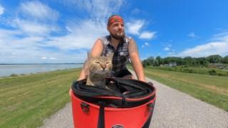 ,O mundo de Nala: um homem, seu gato de resgate e um passeio de bicicleta ao redor do globo