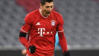 """Lewandowski festeja em Munique um golo que ajudou no apuramento para os """"oitavos"""""""