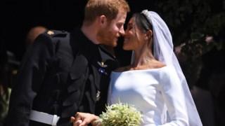 Uma fotografia do casamento dos duques, que se realizou em 2018