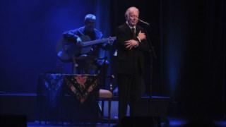 Carlos do Carmo no concerto de despedida no Coliseu dos Recreiros, em Lisboa