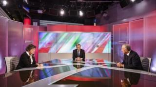 O debate entre Ana Gomes e Marcelo Rebelo de Sousa debateram no sábado à noite