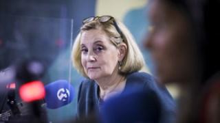 Graça Franco durante entrevista