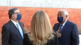 Durão Barroso com António Costa