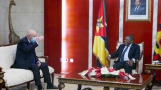 Santos Silva foi recebido por Filipe Nyusi no Palácio Presidencial, em Maputo