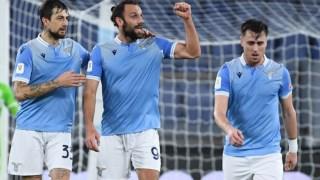 A Lazio apurou-se com um golo quase no final do jogo