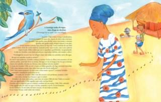 Ilustração para texto de Kátia Casimiro (Guiné-Bissau)