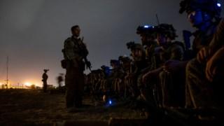 Soldados da 82.ª Divisão Aerotransportada, os últimos militares norte-americanos a deixar o Afeganistão