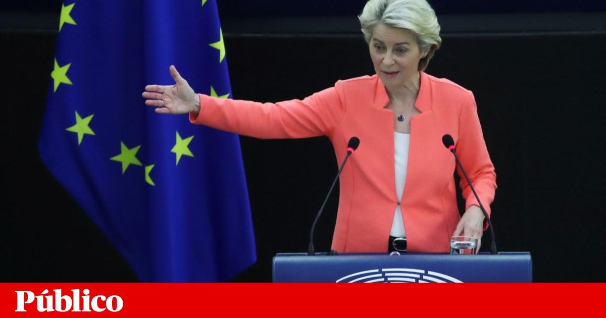 """Von der Leyen considera """"inaceitável"""" tratamento dado a França com o pacto de defesa AUKUS"""