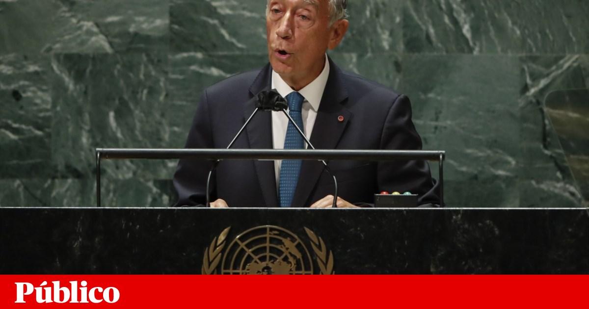 Marcelo defende assento permanente de Brasil, Índia e um país africano no Conselho de Segurança - PÚBLICO
