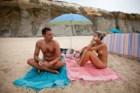 Na Praia do Meco, em Sesimbra