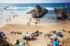Na Praia dos Alteirinhos, Zambujeira do Mar, Alentejo