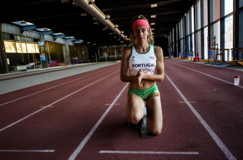 Carolina Duarte, a velocista que quer voar para as medalhas