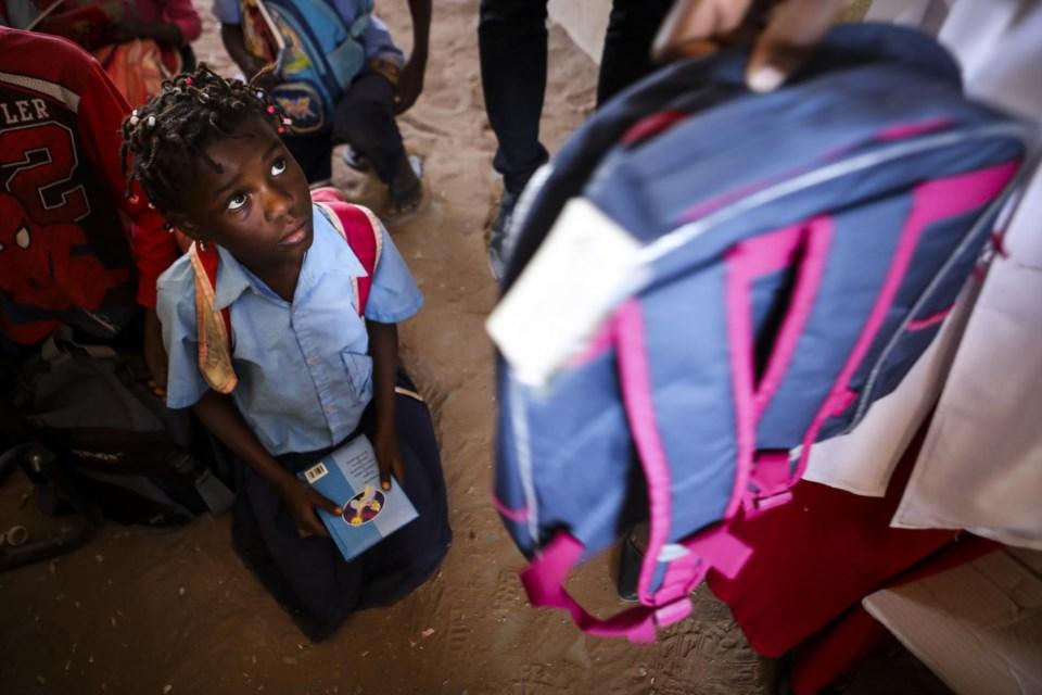 Girl Flower Impresso Escola da Universidade de Ensino Primário Bag Mochila Bookbag