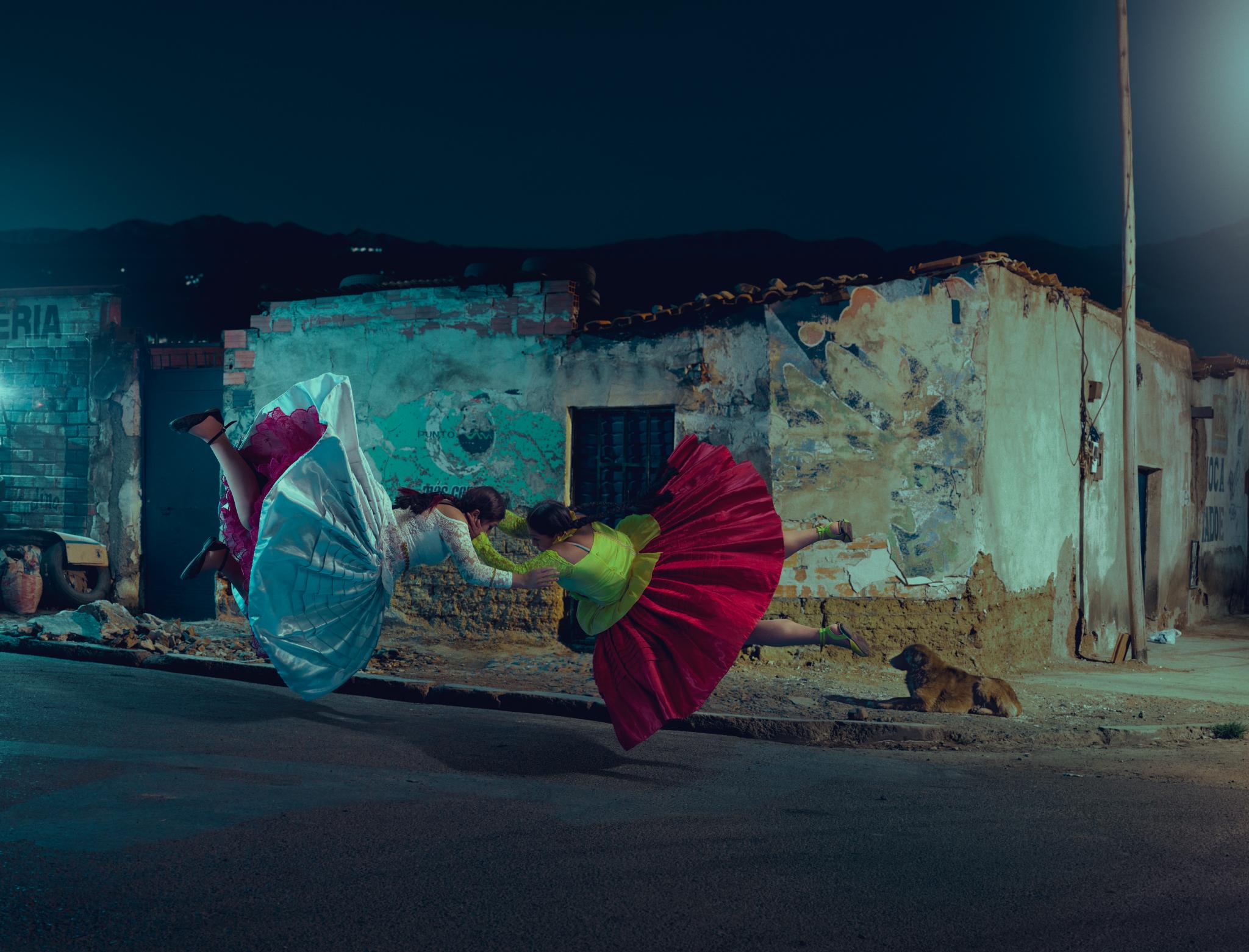 Fotografia. Cholitas: mulheres indígenas que lutam, escalam e voam pelo direito à igualdade, na Bolívia