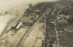 Fotografia aérea sobre a doca do Bom Sucesso, entre 1930 e 1932