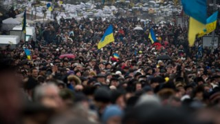Manifestações na Praça da Independência de Kiev levaram à queda de Viktor Ianukovich