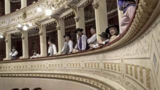A fotografia que valeu o prémio o Beatriz Rocha foi registada no Teatro Garcia de Resende em Évora